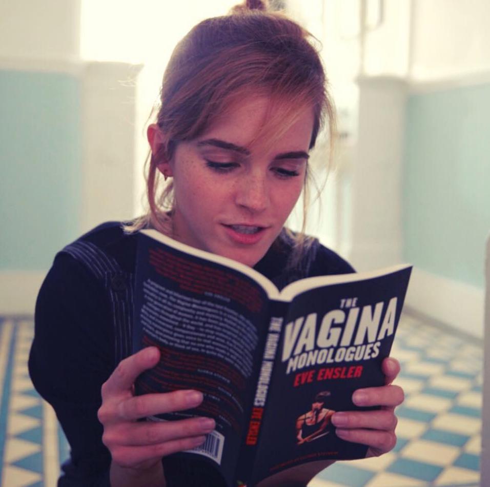 "Eve Ensler ""The Vagina Monologues"" • Los libros de Emma Watson en The Singular Blog • www.thesingularblog.com"