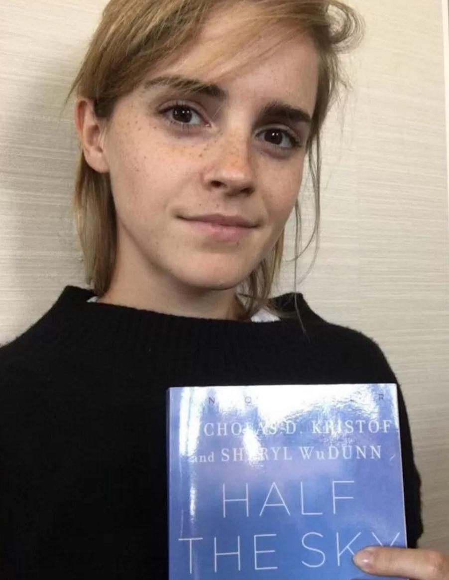 "Nicholas D. Kristof ""Half the sky"" • Los libros de Emma Watson en The Singular Blog • www.thesingularblog.com"