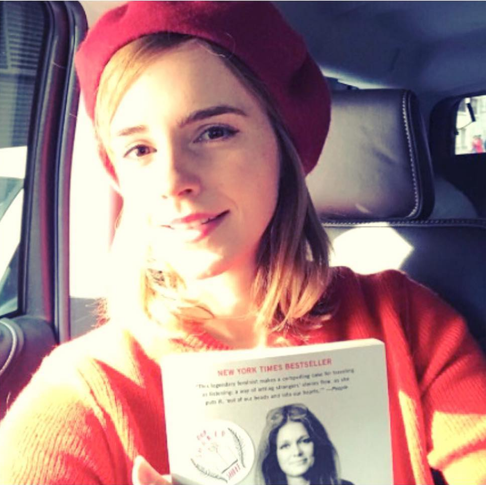 "Gloria Steiner ""My life on the road"" • Los libros de Emma Watson en The Singular Blog • www.thesingularblog.com"
