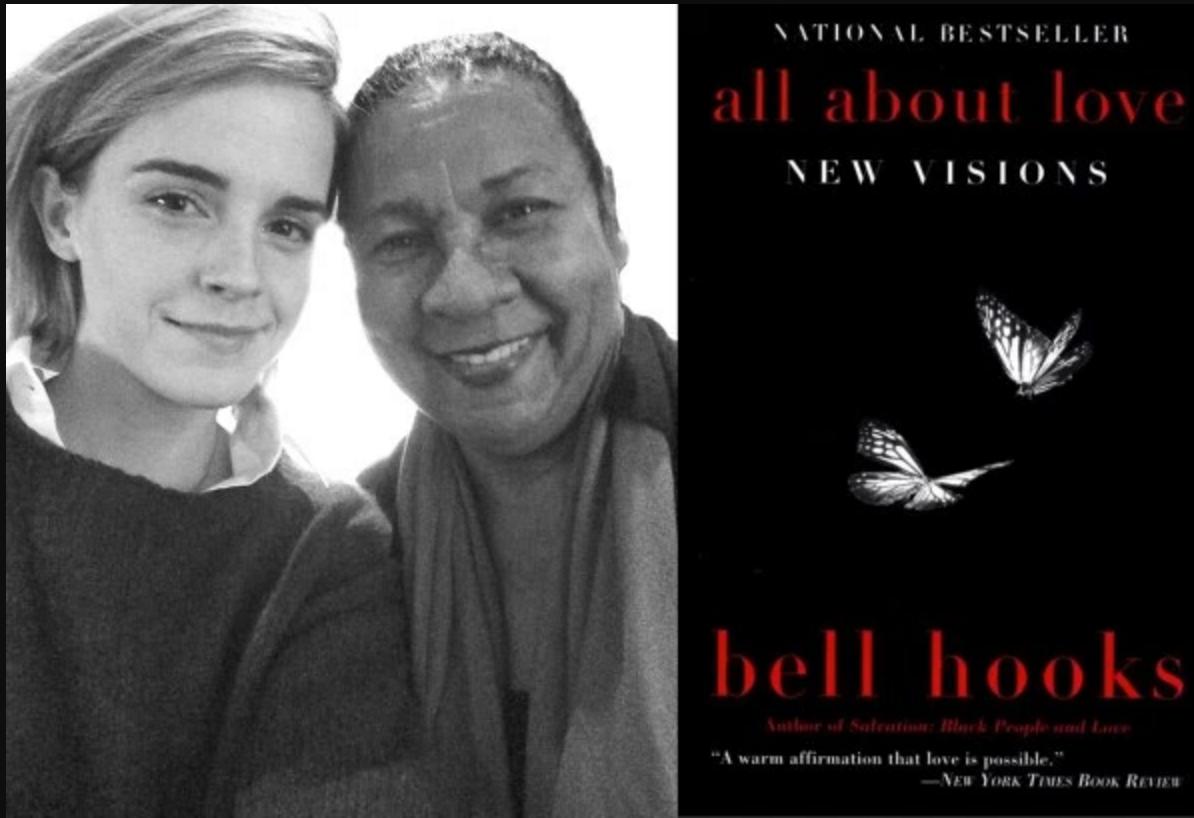 bell hooks con Emma Watson • Los libros de Emma Watson en The Singular Blog • www.thesingularblog.com